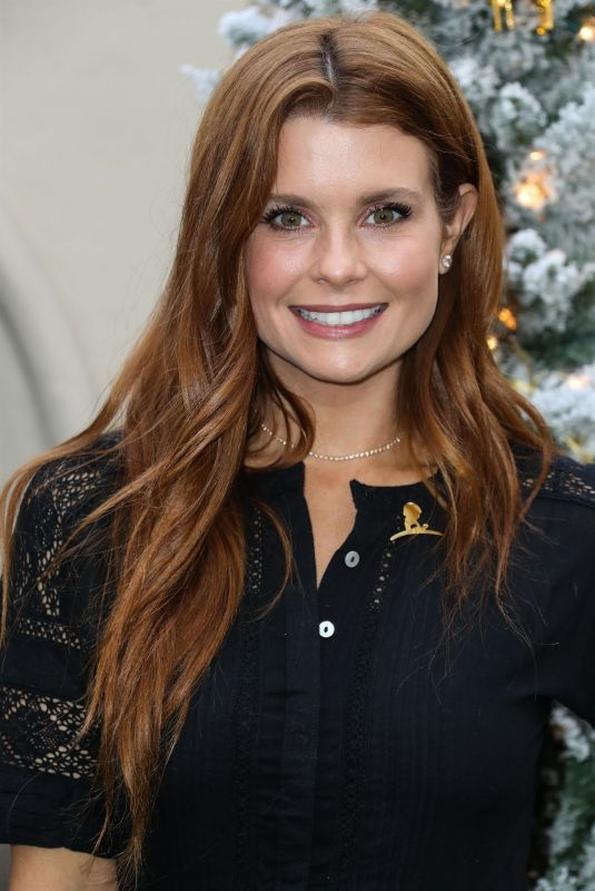 JoAnna Garcia Swisher At Brooks Brothers holiday celebration, Los Angeles