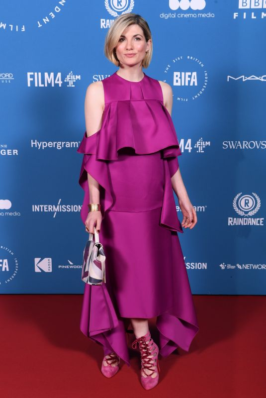 Jodie Whittaker At The 21st British Independent Film Awards 2018 in London