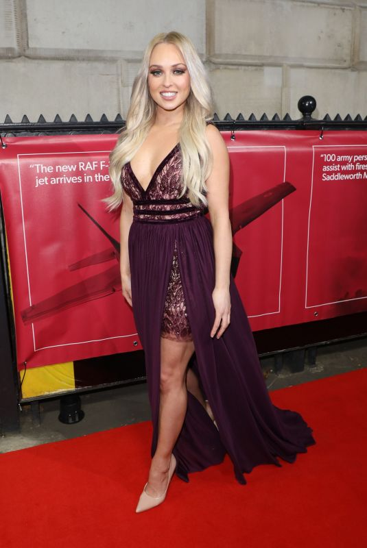 Jorgie Porter At Sun Military Awards in London