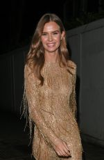 Josephine Skriver Going to a British Fashion Awards afterparty in London