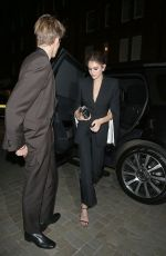 Kaia Gerber Arriving at Chiltern Firehouse in London