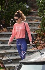 Kate Beckinsale Going to a gym in Los Angeles