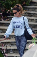 Kate Beckinsale Outside a gym in Los Angeles
