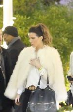 Kate Beckinsale Outside the forum in Inglewood