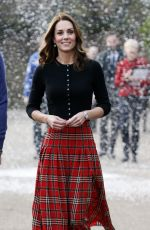 Kate Middleton Attend a party for families of military personnel deployed in Cyprus at Kensington Palace in London, England