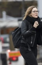 Kate Winslet Out in London