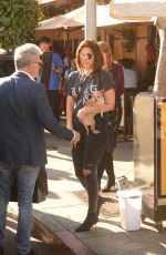 Katharine McPhee Step out for lunch with friends in Beverly Hills