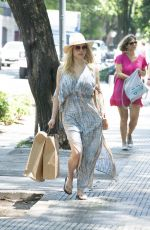 Katheryn Winnick On vacation in Buenos Aires, Argentina