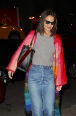 Katie Holmes Arrives at Serendipity in New York