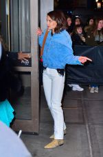 Katie Holmes Arriving at Madison Square Garden in New York City