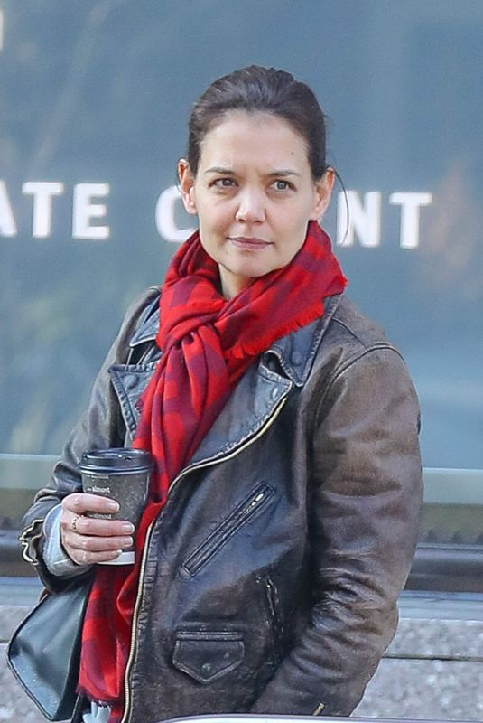 Katie Holmes Out and about in NYC