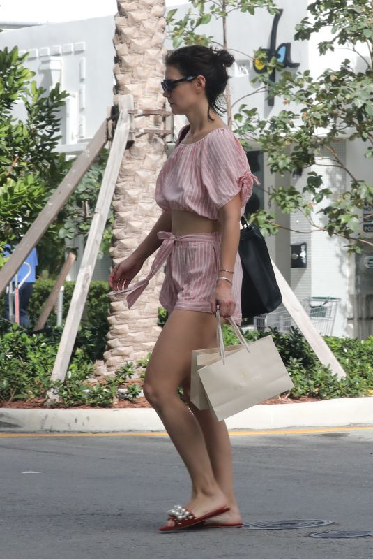 Katie Holmes Out in Miami