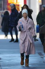 Katie Holmes Out in New York