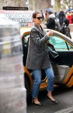 Katie Holmes Out in NY