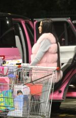 Katie Price Spending L4k while Christmas shopping at a toy store in Brighton