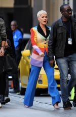 Katy Perry Arriving at the American Idol audition