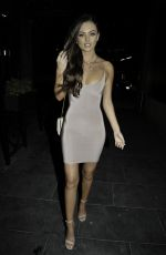 Kendall Rae Knight Enjoys girls night out in Manchester