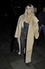 Kerry Katona At Impossible Nightclub in Manchester