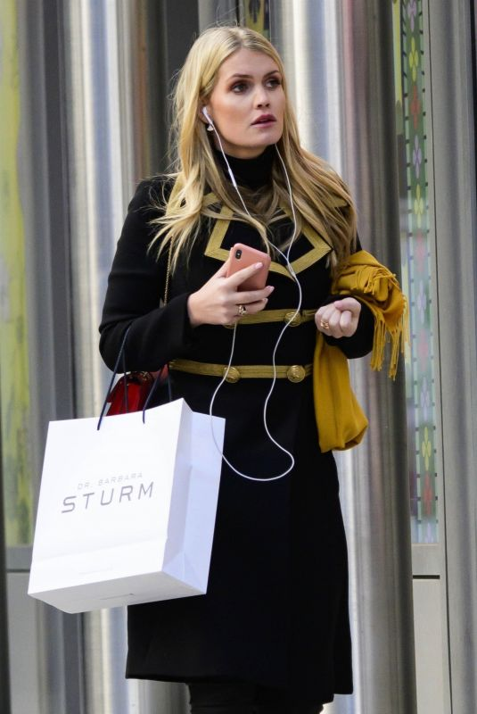 Kitty Spencer Out in New York