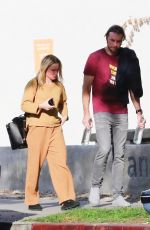 Kristen Bell After exiting sweat lodge session in LA