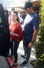 Kyle Richards Enjoys a Christmas Eve lunch with her family