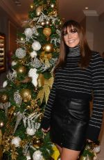 Kym Marsh Turning the Christmas lights on at The House Of Evelyn in Manchester