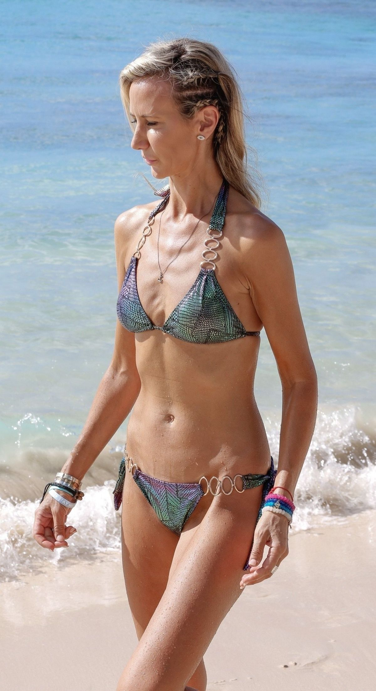 Lady Victoria Hervey In Bikini while on holiday in Barbados