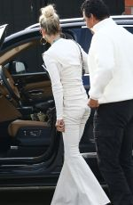 Laeticia Hallyday Heading to the Salon to do her highlights in Beverly Hills