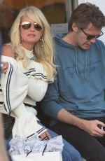 Laeticia Hallyday, widow of French singer Johnny Hallyday is spotted in Venice