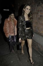 Lauren McQueen At The Hollyoaks Christmas Party at Revolution Bar in Liverpool