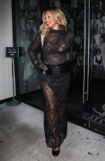 Laverne Cox Strikes a pose at Catch