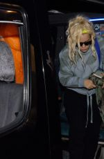 Lily Allen Arriving at The Stage Door of The Olympia Theatre, Dublin, Ireland
