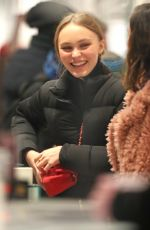 Lily Rose Depp Shopping in SoHo, New York City