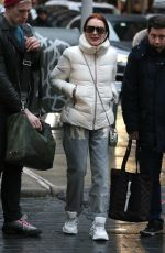 Lindsay Lohan Out in NYC