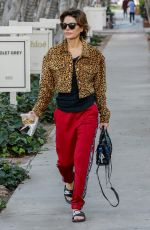 Lisa Rinna Runs errands after serving food to the homeless at the LA Mission