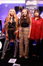Little Mix Backstage at the Capital FM Jingle Bell Ball in London
