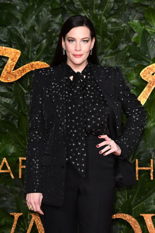 Liv Tyler At The British Fashion Awards in London