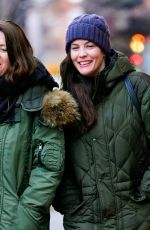 Liv Tyler Out with a friend in NY