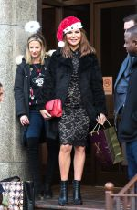 Lizzie Cundy Exits TalkRadio after their Xmas celebrations in London