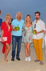 Lottie Moss At launch of Virgin Holidays Departure Beach in Barbados