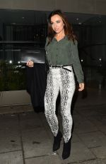 Louisa Lytton At Night Out with Boyfriend Benny in Mayfair at Tamarind Indian Restaurant London