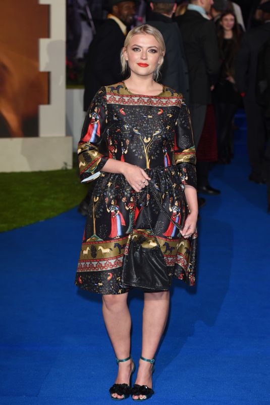 Lucy Fallon At Mary Poppins Returns Film Premiere in London