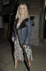 Lucy Fallon At Rosso Restaurant in Manchester