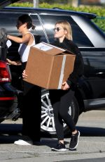 Lucy Hale At Christmas shopping in Beverly Hills