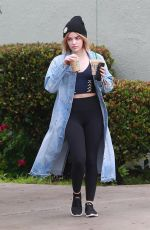 Lucy Hale Stops by Starbucks in Studio City