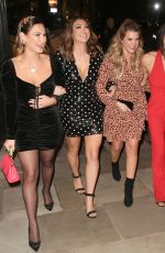 Luisa Zissman, Lizzie Cundy, Casey Batchelor & Sam Faiers At Loose Lips Podcast Live At Devonshire Club in London