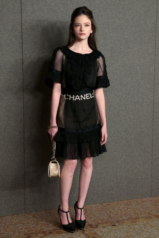 Mackenzie Foy At Chanel Metiers d