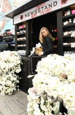 Maddie Ziegler At Daisy Marc Jacobs Popup Newsstand in New York City