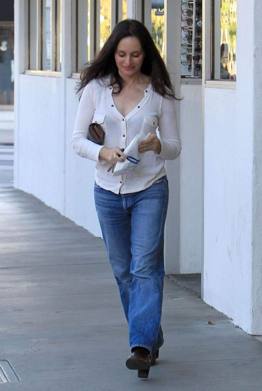 Madeleine Stowe Out in Beverly Hills