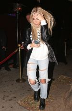 Madison Beer Going to the Peppermint club in West Hollywood